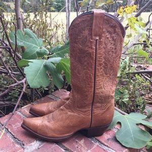 Dan Post Brown Womens Western Boots Sz 9M